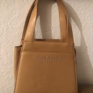 Vintage Chanel beige small handbag